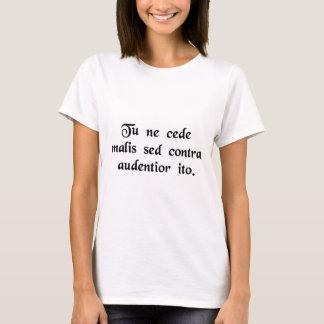 Erbringen Sie nicht zu den Missgeschicken, aber T-Shirt