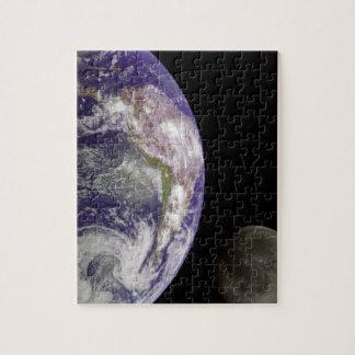 Erd-und Mond-Puzzle Puzzle