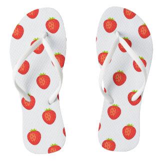 Erdbeere drehen Reinfälle um Flip Flops