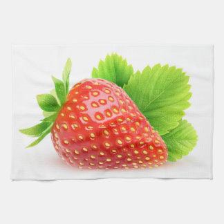 Erdbeere Küchenhandtuch