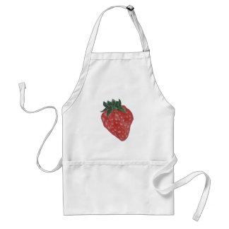 Erdbeere Schürze