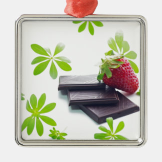Erdbeeren Schoko Waldmeister Stillleben Ornamente
