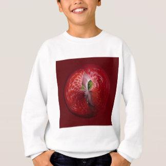 Erdbeeren vom Innere Sweatshirt