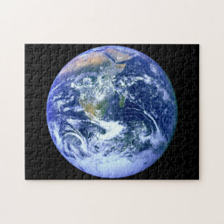Erdblau-Marmor Puzzle