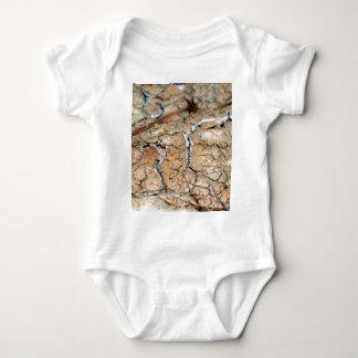 Erde des trockenen Bodens/des Sprunges Baby Strampler
