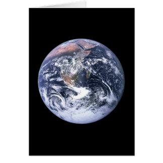 Erde Grußkarte