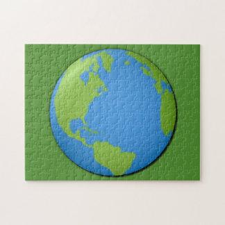 Erde klassisches 3D Puzzle