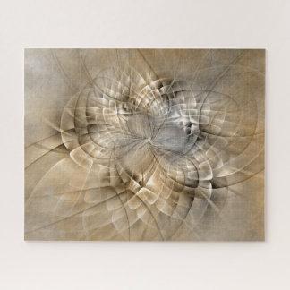 Erde tont abstrakte moderne puzzle