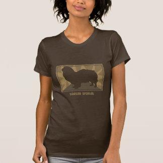 Erdiger tibetanischer Spaniel T-Shirt