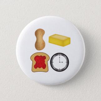 Erdnussbutter-Gelee-Zeit! Runder Button 5,1 Cm