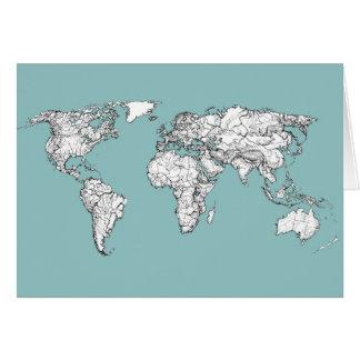 ErdTürkistinte Karte