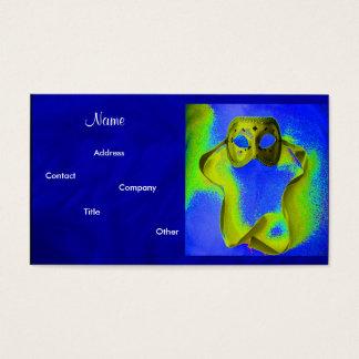 Ereignis-Planer-Maskerade Visitenkarten