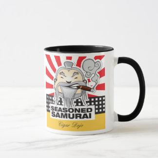 Erfahrene Samurais Tasse