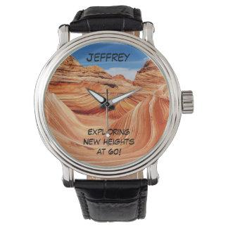 Erforschende neue Höhen-Armbanduhr, 60 Jahre alt Uhr