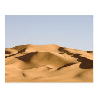 Erg Awbari, Sahara-Wüste, Fezzan, Libyen. 2 Postkarte