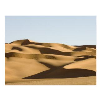 Erg Awbari, Sahara-Wüste, Fezzan, Libyen. 3 Postkarte