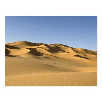Erg Awbari, Sahara-Wüste, Fezzan, Libyen. 5 Postkarte