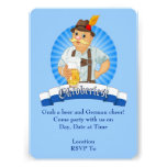 Ergreifen Sie ein Bier! Oktoberfest Party Einladungskarten