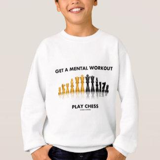 Erhalten Sie ein GeistesTrainings-Spiel-Schach Sweatshirt