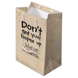 Erhalten Sie Ihre Hoffnungen herauf Spaß nicht Mittlere Geschenktüte
