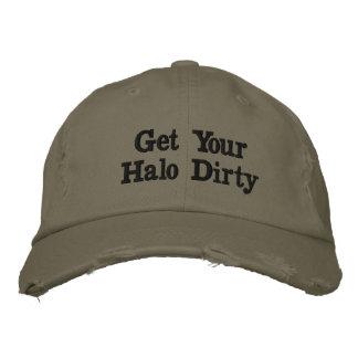 Erhalten Sie Ihrem Halo schmutzigen Hut