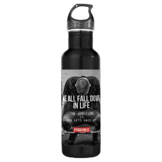 Erhalten Sie Unterstützung - den motivierend Trinkflasche