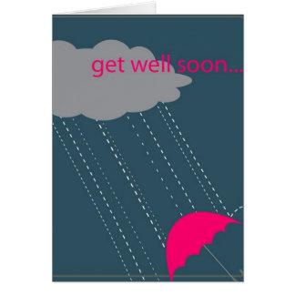 Erhalten Sie wohlen bald Regenschirm Karte