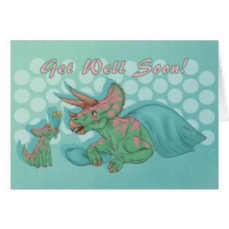 Erhalten Sie wohlen bald Triceratops Karte