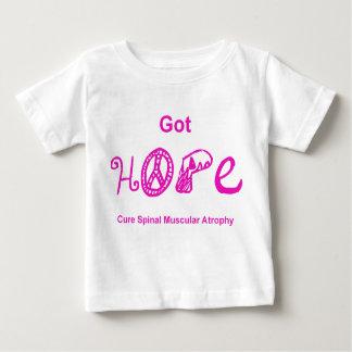 Erhaltene Hoffnung - Rosa Baby T-shirt