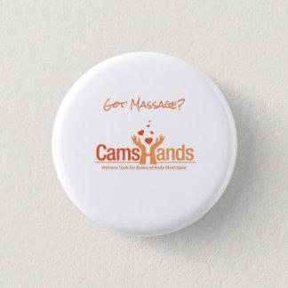 Erhaltene Massage? Logo-Button Runder Button 3,2 Cm