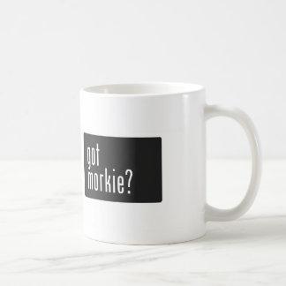 erhaltenes morkie? kaffeetasse