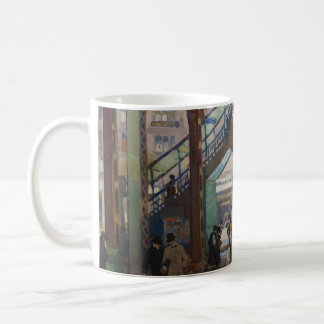 Erhöhte Columbus-Allee - Gifford Beal Kaffeetasse