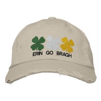 Erin gehen Bragh gestickter Hut Baseballcap