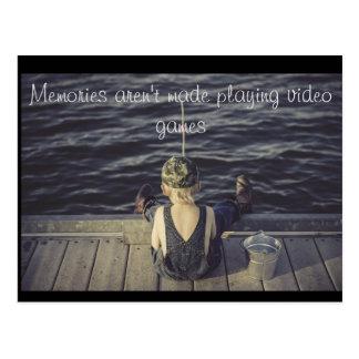 Erinnerungens-Postkarte Postkarten