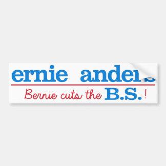 Ernie Anders - Bernie schneidet die BS - Autoaufkleber