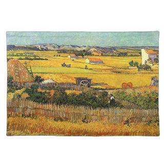 Ernte am La Crau… Vincent van Gogh Tischset