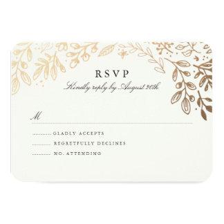 Ernte-Blumen UAWG 8,9 X 12,7 Cm Einladungskarte