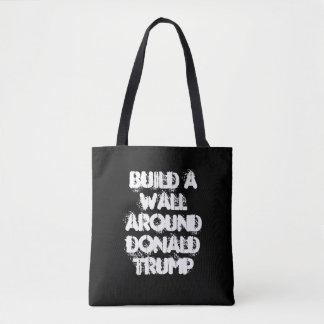 Errichten Sie eine Wand um Donald- Trumptasche