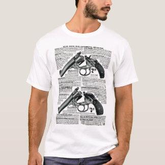 Erschwinglicher Revolver-Vintager Anzeigen-T - T-Shirt