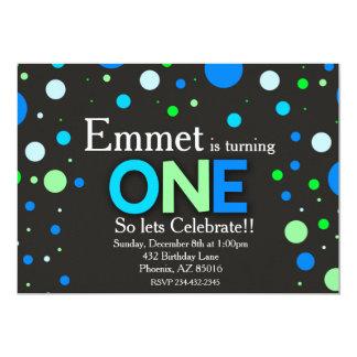 Erste Geburtstags-Einladung, 1. Geburtstag Karte