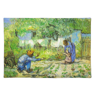 Erste Schritte, Vincent van Gogh 1890. Stofftischset