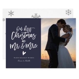 Erste Weihnachts(wählen Sie Farbe), 12,7 X 17,8 Cm Einladungskarte