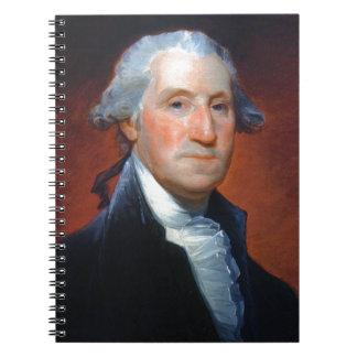 Erster Präsident: George Washington Notizblock