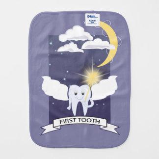Erster Zahn - Zahn-Fee Baby Spucktuch