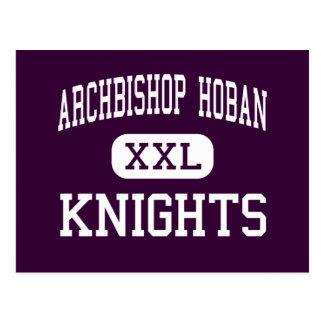Erzbischof Hoban - Ritter - hoch - Akron Ohio Postkarte