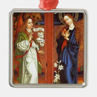 Erzengel Gabriel - Ankündigung - Schongauer Silbernes Ornament