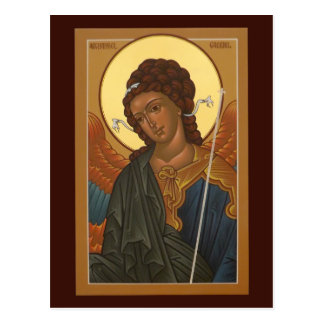 Erzengel-Gabriel-Gebets-Karte Postkarte