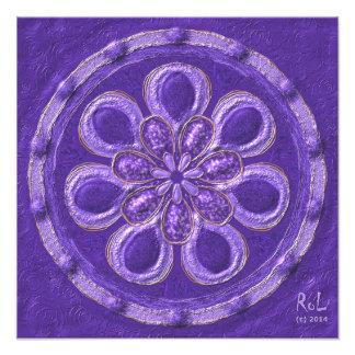 "Erzengel-Mandala""Raphael""als Fotodruck ca.40x40cm"