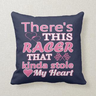 Es gibt diesen Rennläufer, der mein Herz stahl Kissen