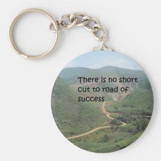 Es gibt keinen kurzen Schnitt zur Straße des Schlüsselanhänger